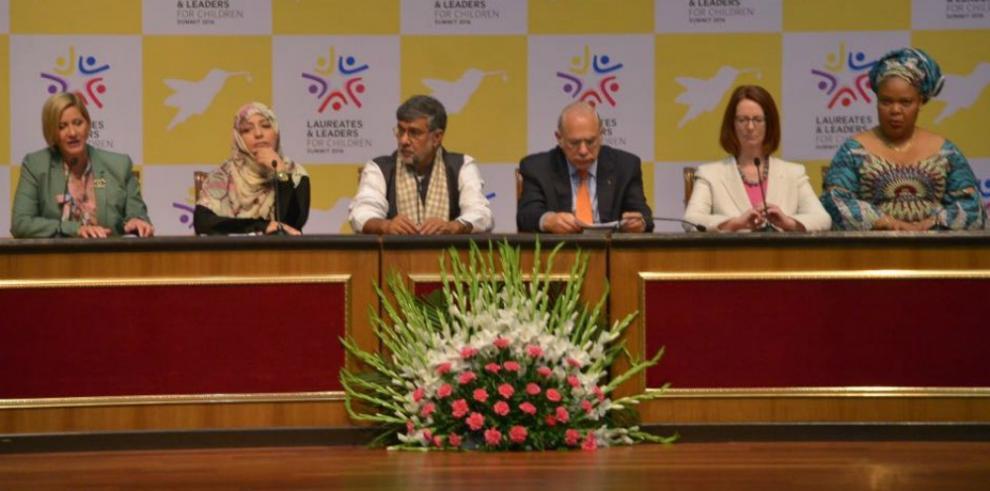 Panamá se une a campaña de nobel de la paz 2014por la niñez