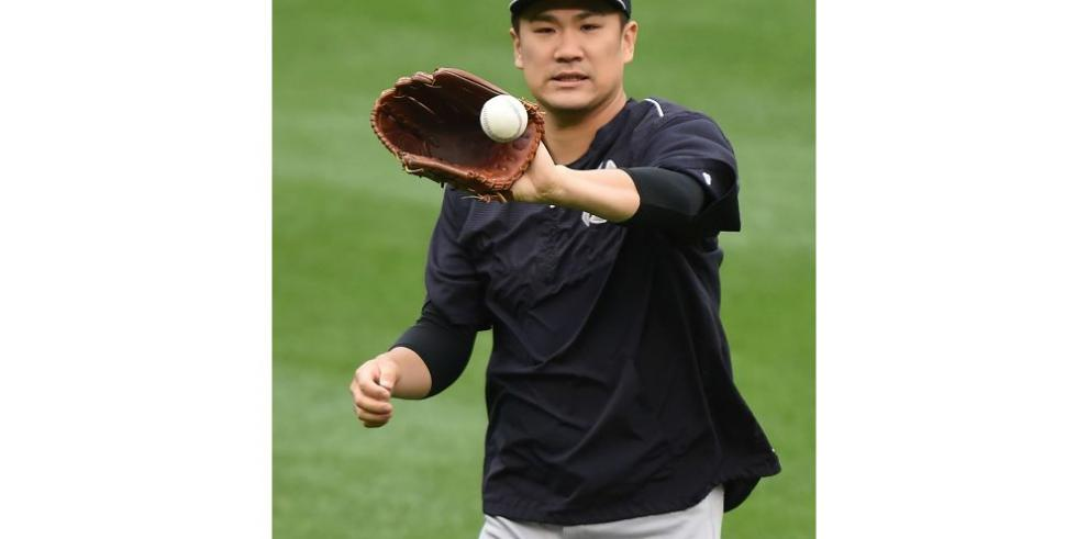 Tanaka lanza dos episodios sin problemas con Yanquis