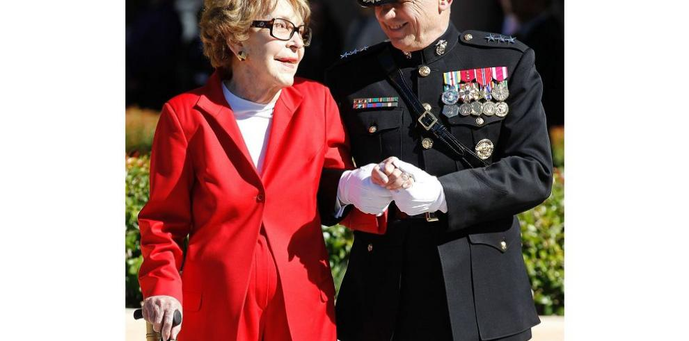 Fallece la exprimera dama Nancy Reagan