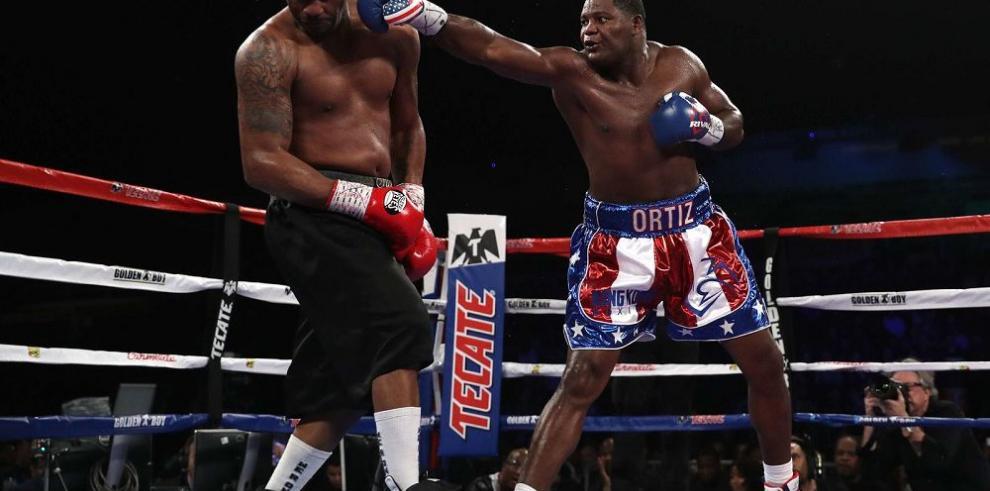 Ortiz se apunta a Thompson y reclama pelea con Wilder
