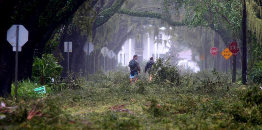 La furia de 'Matthew' contra Florida