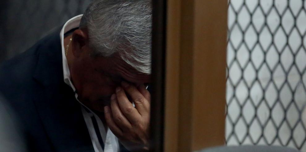 Suspenden audiencia en la que se decidiría juicio a Otto Pérez