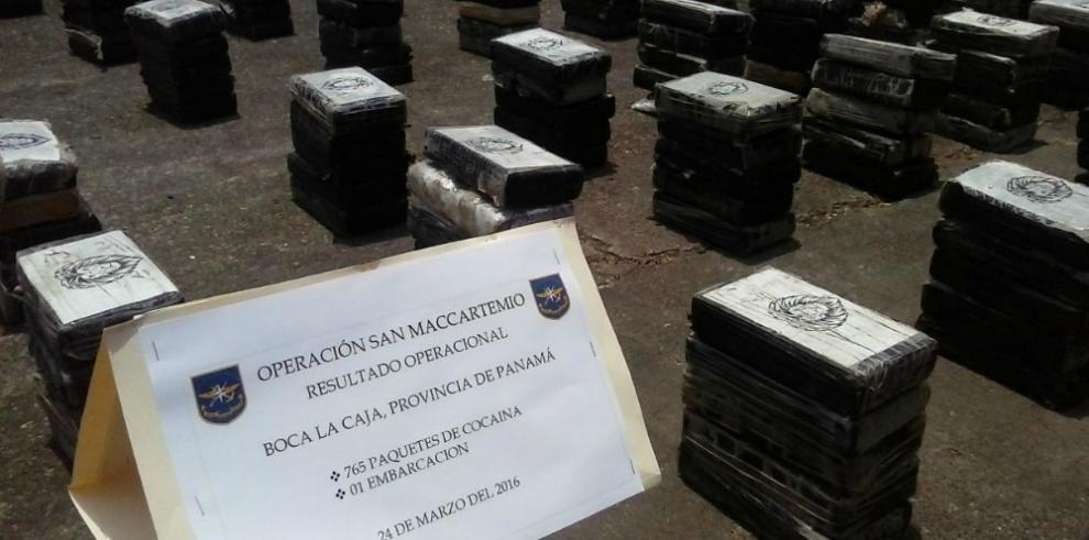 Senan decomisó 765 paquetes de droga en Boca La Caja