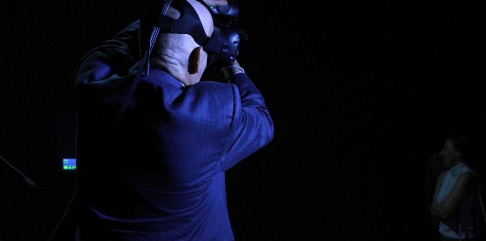 La realidad virtual transforma al público en artistas