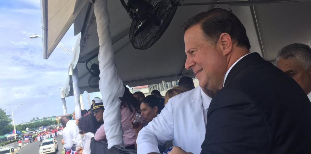 Aranceles y narcotráfico, temas separados con Colombia, Varela