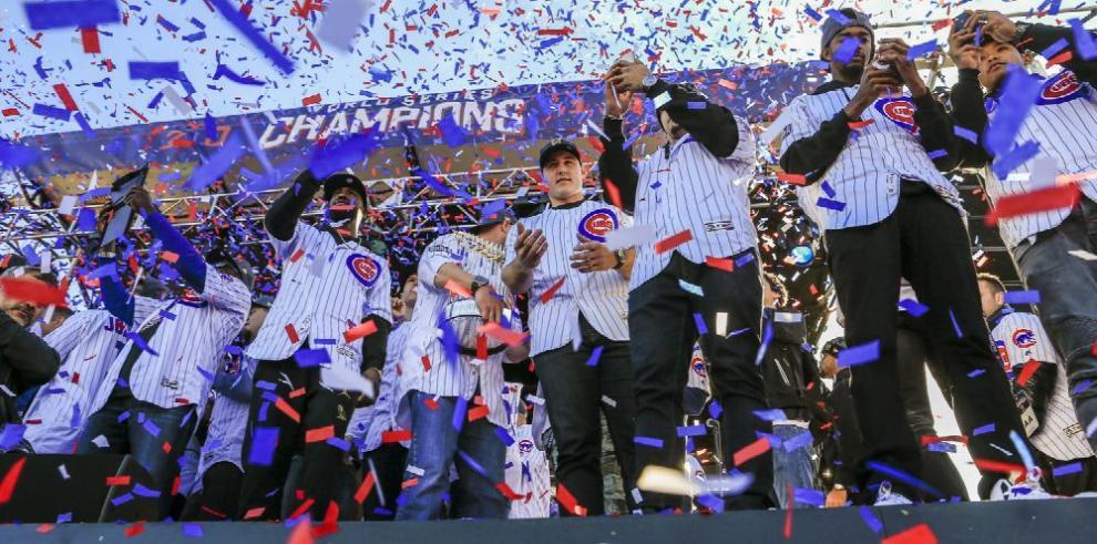 Chicago celebró a lo grande el campeonato