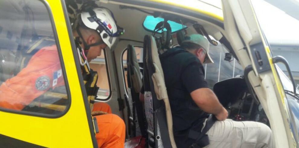 Aeronáutica Civil encuentra flotador del helicóptero HP-1762
