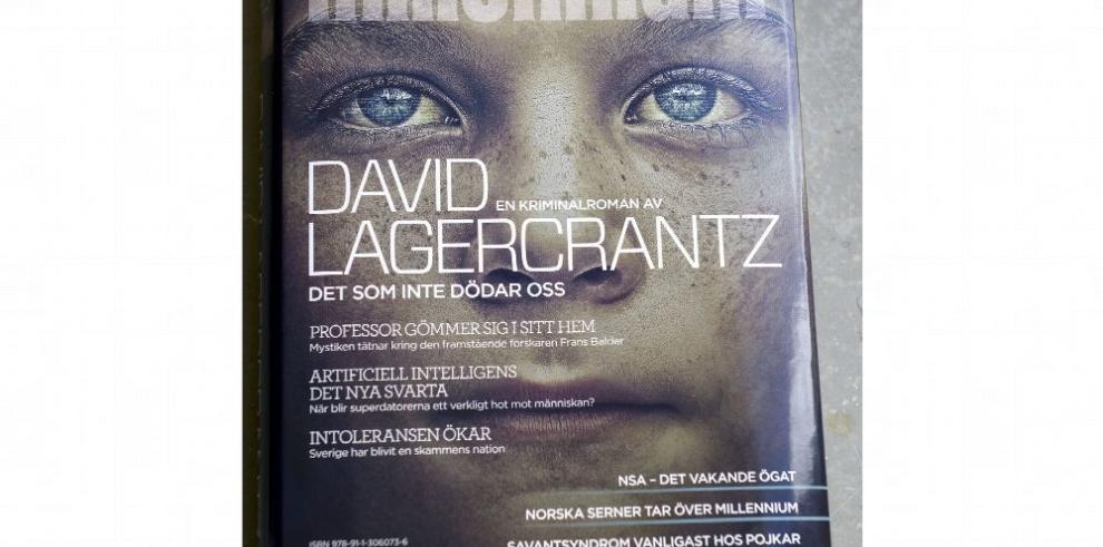 Lagercrantz alista quinta entrega de 'Millennium'