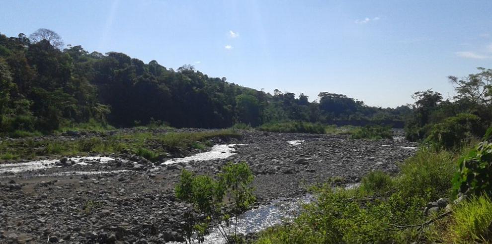 Preocupación en Chiriquí por el bajo caudal de los ríos