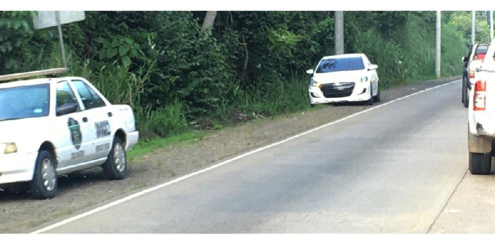 Dos heridos deja accidente de tránsito en la Vía Panamericana