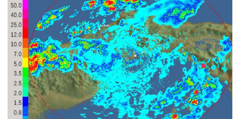 Sinaproc emite alerta amarilla y verde por fuertes lluvias