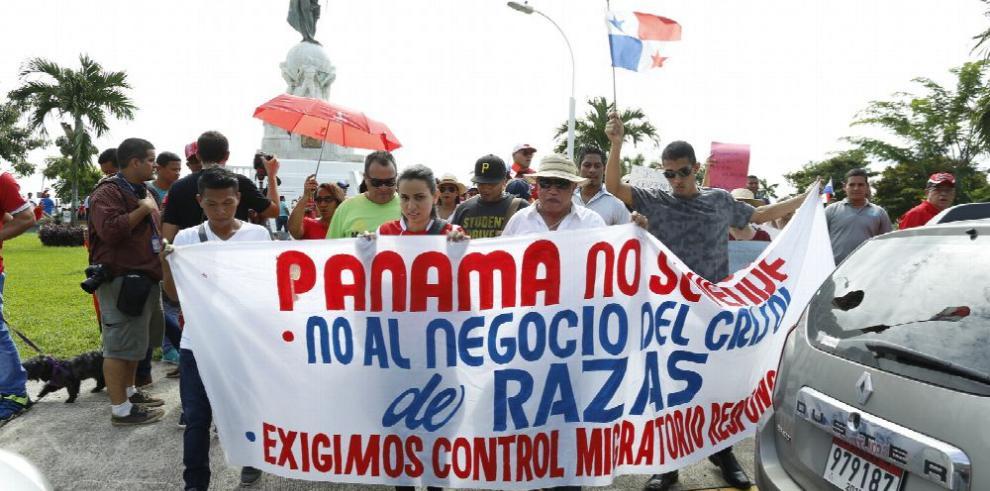 Cuestionamientos por la falta de control migratorio en Panamá