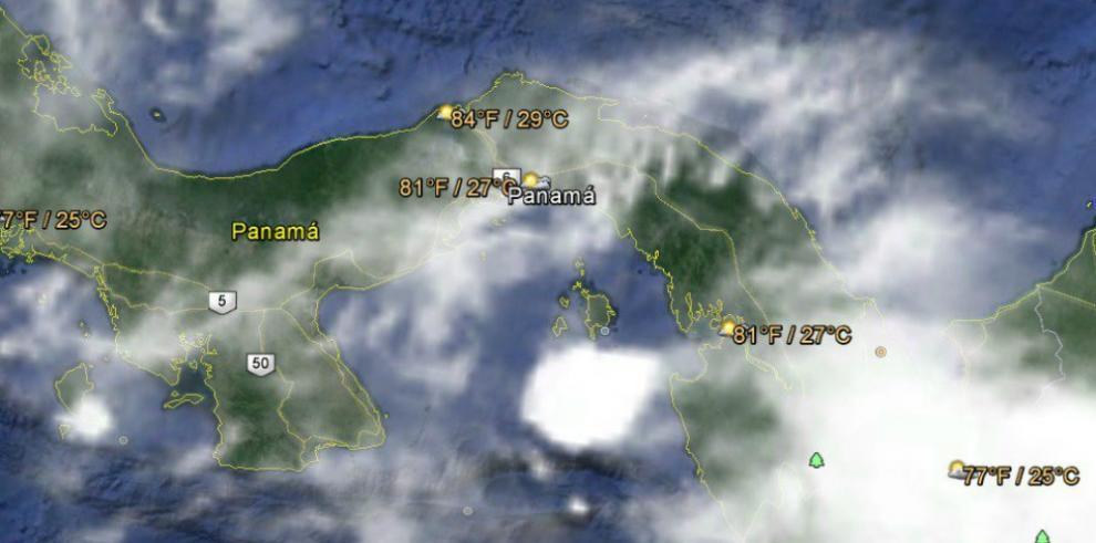 Sinaproc advierte fuertes lluvias con descargas eléctricas