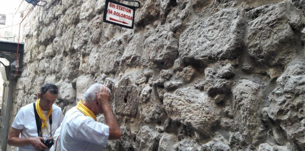 Detrás de los pasos de Cristo en Jerusalén