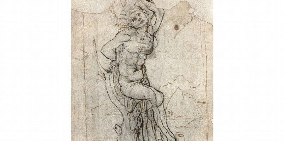 Encuentran dibujo de Da Vinci