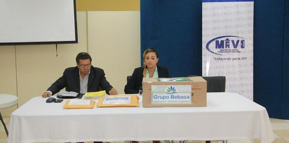 Tres empresas participan en licitación de proyecto Curundú