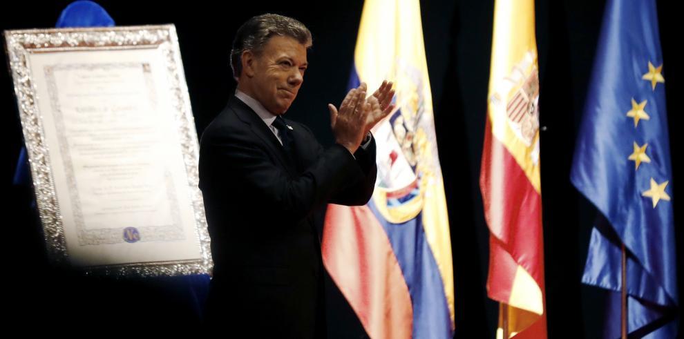 Santos proclama que la reconciliación en Colombia comienza ahora