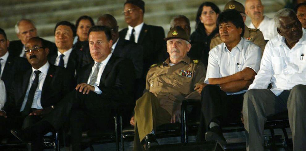 Presidente Varela participó de ceremonia de Estado en Cuba
