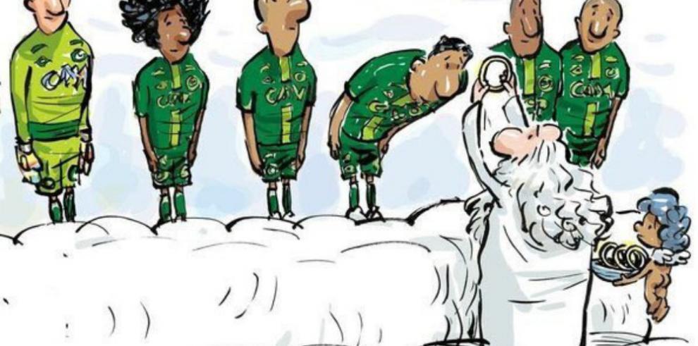 Artistas rinden homenaje a los jugadores fallecidos del Chapecoense