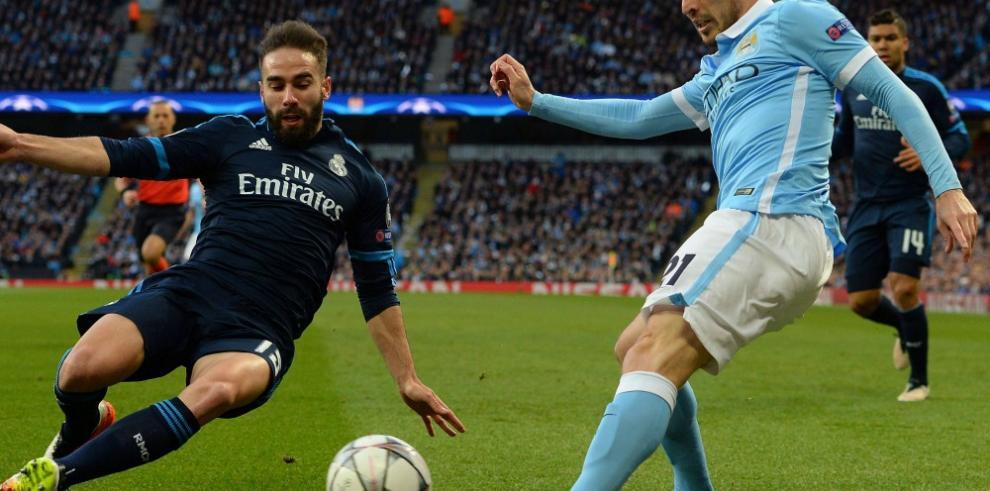 Manchester City y Real Madrid empatan en la ida de semifinales