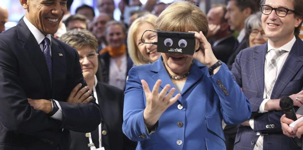 EE.UU. saca músculo empresarial en Europa
