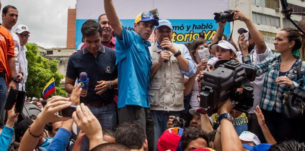La oposición venezolana se moviliza a favor de referendo