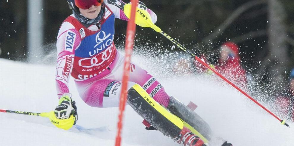 Shiffrin amplió su ventaja en la Copa del Mundo de esquí
