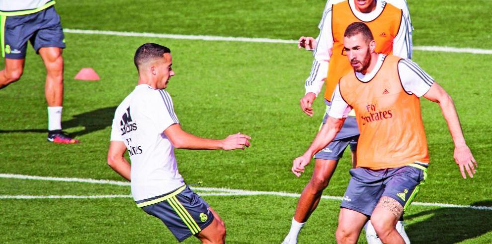 Real Madrid con bajas