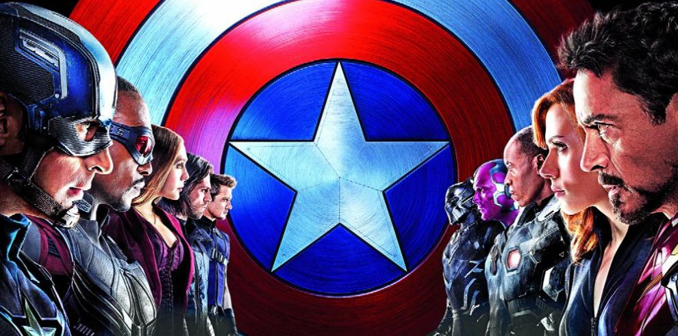 'Capitán América: Civil War', la más taquillera