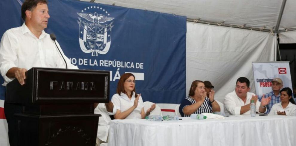 Gobierno Nacional invierte $95 millones en Santiago