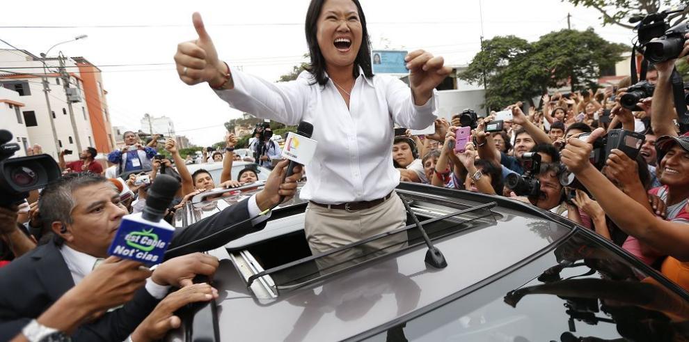 Keiko Fujimori fue la más votada, pero deberá ir a balotaje