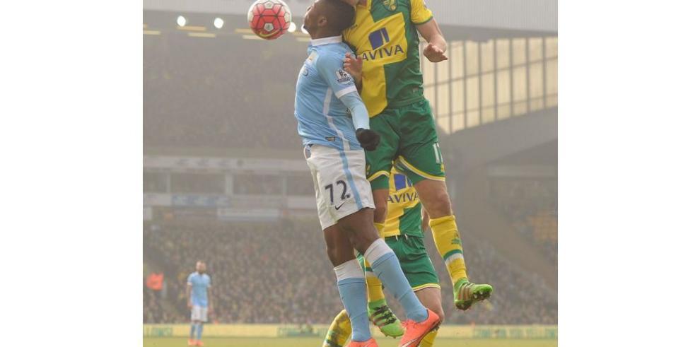 Manchester City empata a cero con el Norwich