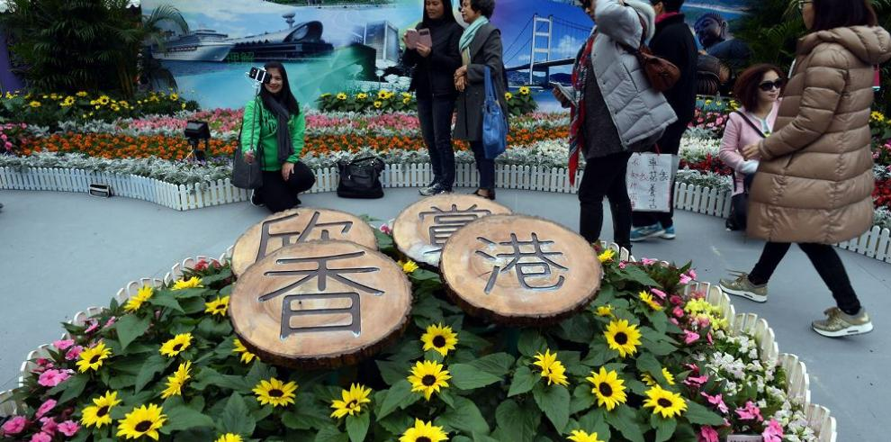 Los jardines de Hong Kong