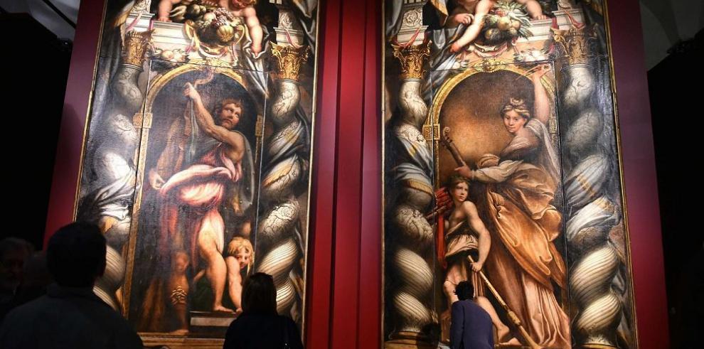 Arte de Corregio y Parmigianino en el Quirinale