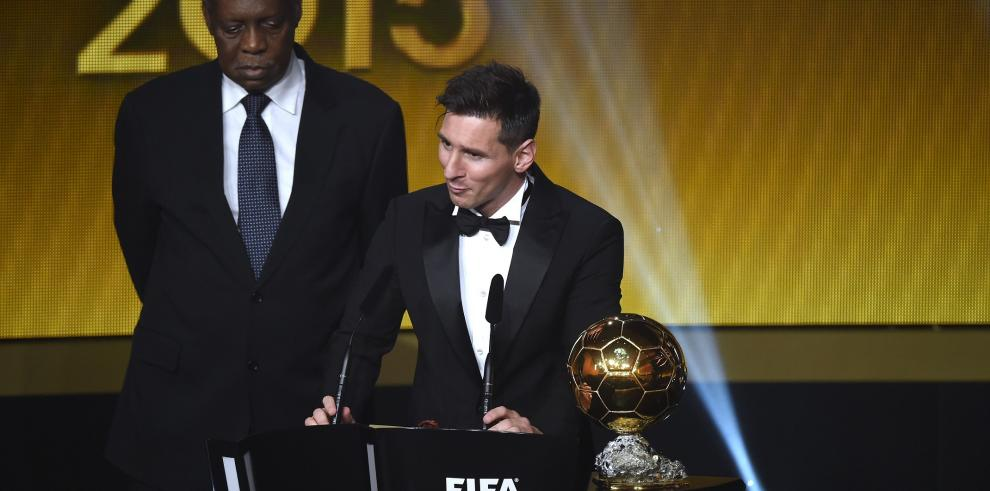 Lionel Messi gana su quinto Balón de Oro