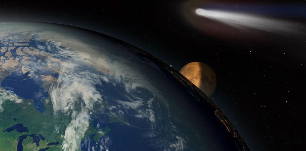 Esta semana, un cometa único en el cielo
