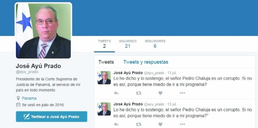 Ayu Prado desmiente cuenta de Twitter
