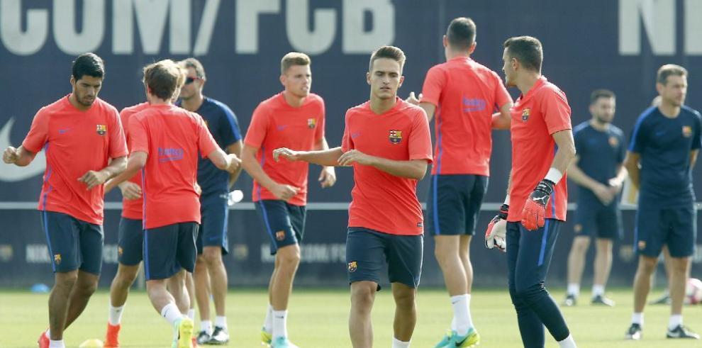 Barcelona viajó con Leo Messi a Londres
