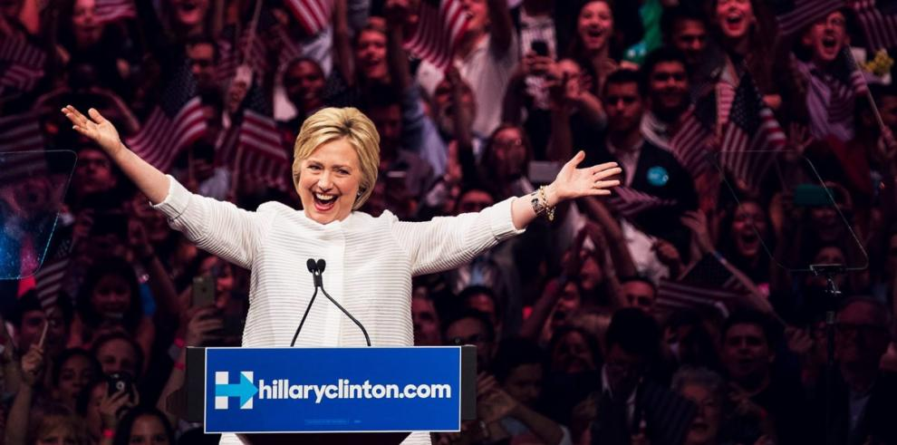 Hillary Clintonla primera mujer candidata a la Presidencia de EEUU