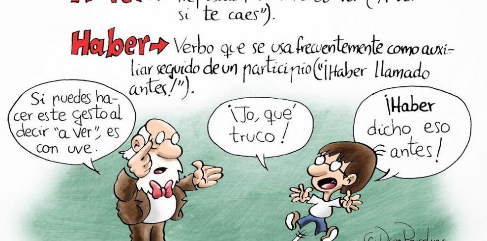Una nueva caricatura que nos enseña a hablar bien el español