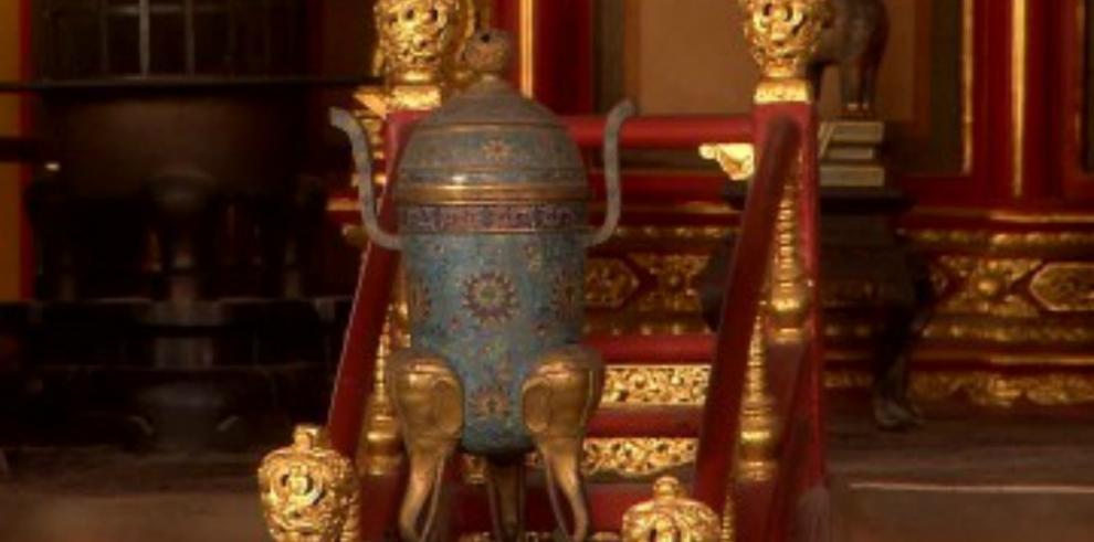 Jarrón comprado como baratija resultó ser tesoro del Palacio Imperial