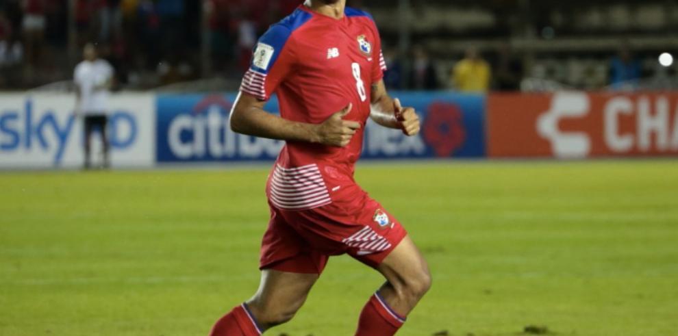 Gabriel Torres no estará en la Copa Centroamericana