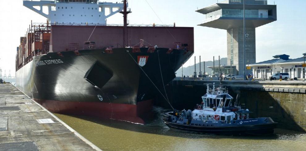 Canal ampliado registra nuevo récord de tránsito
