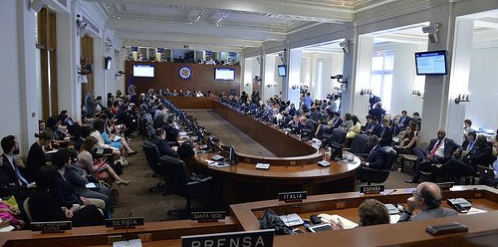 OEA adopta por consenso declaración en apoyo a un diálogo en Venezuela