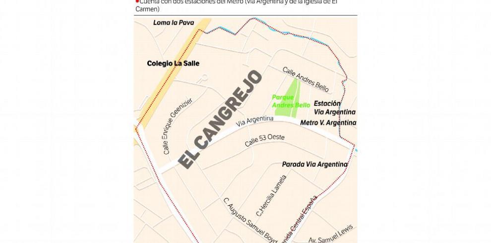 El Cangrejo, un barrio que resiste