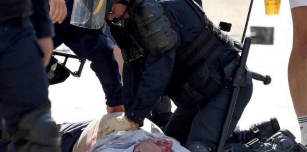Los dos heridos ingleses en Marsella regresan