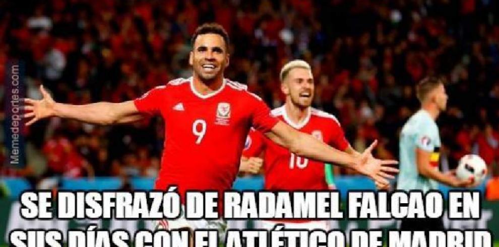 Chistosos memes de la victoria de Gales sobre Bélgica