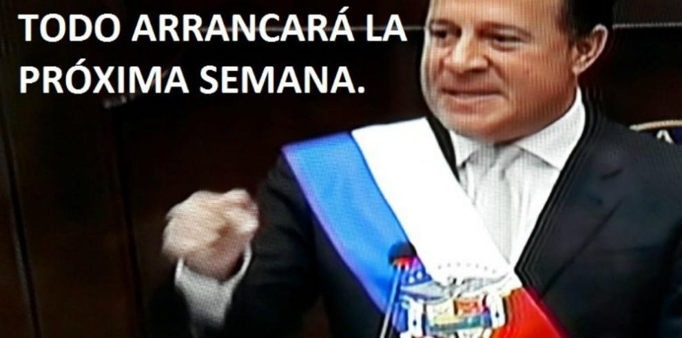 Memes de los dos años de gobierno de Varela y de la Asamblea