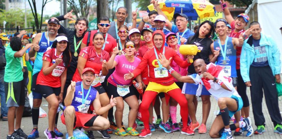 Panameños tomaron el control en el Maratón de Medellín