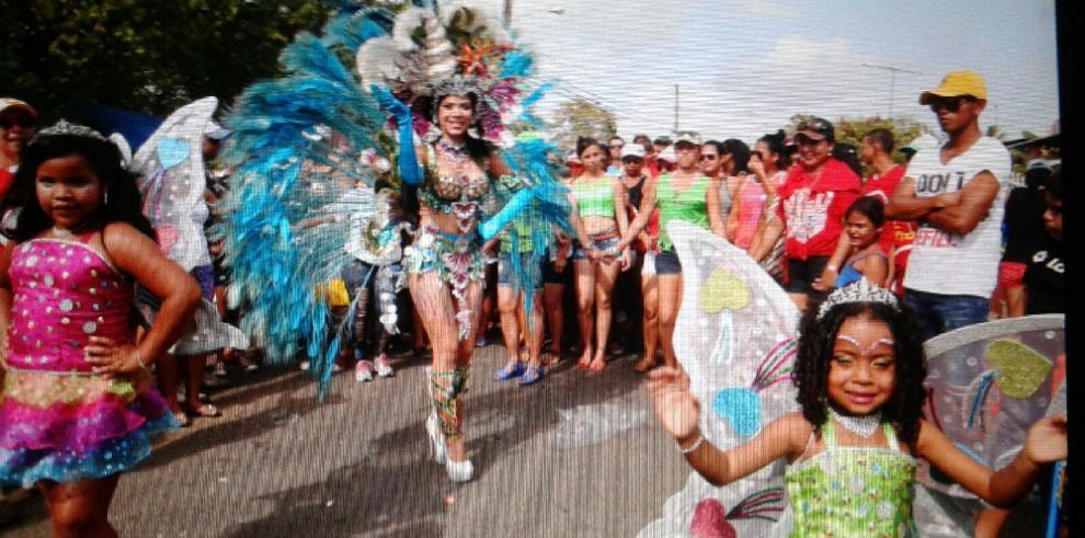 Corina Villarreal, de Calle Arriba de Chepo se impone en el topón